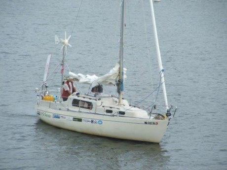 Barco de Matt Rutherford